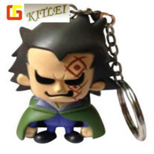 高品質のPlastic Promotional 3D Gift PVC Key Ring