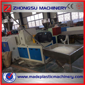 tubo de PVC máquina de produção / tubo de PVC máquina extrusora