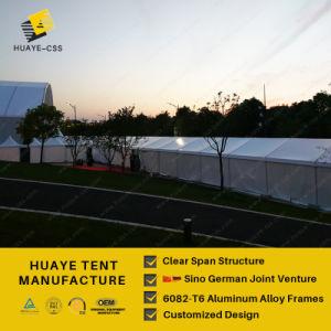 15m Huaye Kirche-Art-Hochzeits-Zelt mit Glaswand (hy837b)