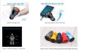 製造業者の電話アクセサリは充電器USBの二倍になる