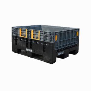 1200x1000x590mm Caja de palets de plástico plegables en venta