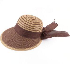Mode pare-soleil Lady plage Hat large bord Chapeau de paille