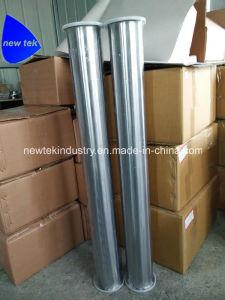 3  Le collier du tuyau de tiroir sanitaires trois tubes en acier inoxydable