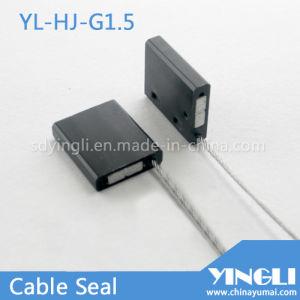 Sceau de câble de sécurité pour l'étanchéité de boîte logistique (YL-HJ-G1.5)