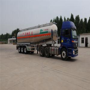 De nieuwe Semi Aanhangwagen van de Tank van de Olie van de Aanhangwagen van de Tank van de Brandstof van de Legering van het Aluminium van 3 As Semi voor Diesel Vervoer van de Benzine/
