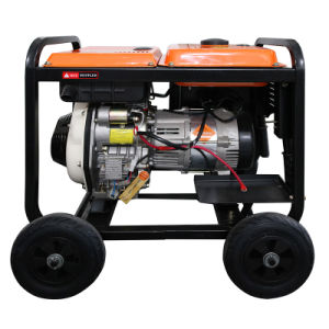 힘 열리는 단일 위상 디젤 엔진 발전기 (2KW가)