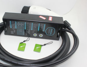 NEMA 10-50のプラグを持つセリウムの証明書のEvse J1772のプラグEVの充電器