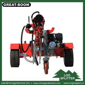 手動縦油圧ログのディバイダーのディーゼル