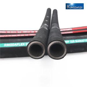 Kingdaflex goma resistente al aceite de la manguera hidráulica DIN EN853 1SN 2SN