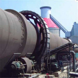 セメントの生産のためのか焼のロータリーキルン