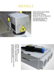 20W 30W de AutoMachine van de Gravure van de Laser van de Vezel van de Nadruk Draagbare