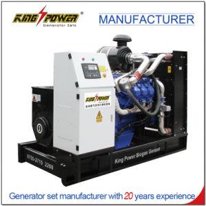 120 kw/150kVA grupo electrógeno de biogás con 37,2 L/H El consumo de combustible
