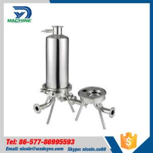 Microfiltro de líquidos alimentares em aço inoxidável