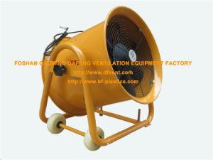 220V Orange Adjustable Moving Blower Ventilator