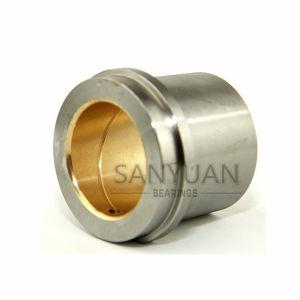 Douille de guidage de l'acier bimétallique Roulement à friction en fonte usinée bague en bronze