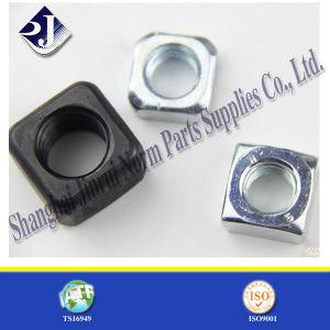 Noix DIN557 carrée en acier normale pour le boulon