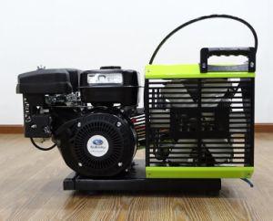 Motor de Gasolina Gasolina de 300bar Portable Compresor de Aire Respirable de Buceo