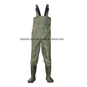 Botas de PVC Material de nylon de Pesca wet suit