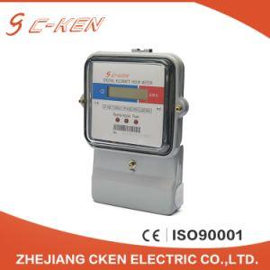 Высокая точность Cken 220V 60Гц электронной цифровой Аналоговый счетчик электроэнергии