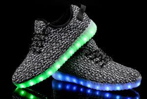 La llegada de nuevos zapatos de carga USB LED