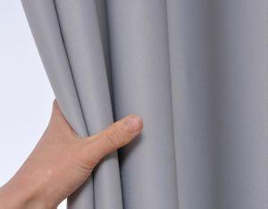 Moda atacado a cortina da janela de blecaute lavável decorativos para Home Hotel