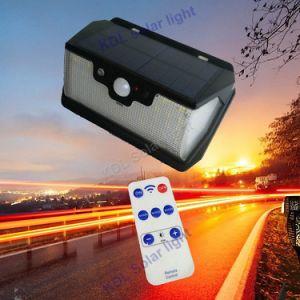 3 PIR +Motion+CDS 밤 센서 USB 비용을 부과 운반 태양 LED 램프 적외선 PIR 움직임 감을%s 가진 측면광 55 LED 원격 제어 태양 빛은 6개을 방수 처리한다
