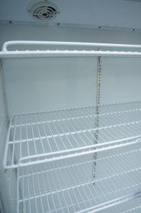 Affichage de grande capacité réfrigérateur vitrine en acier
