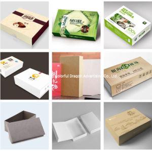 Pacote de armazenamento Cosméticos Private Label da alimentação de papel personalizado Caixa de oferta