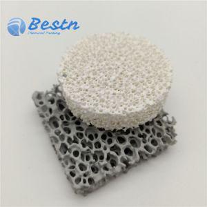 L'alumine zircone Sic mousse de filtre en céramique poreuse