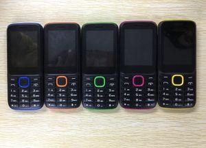 De concurrerende GSM van de Prijs 2.4inch Dubbele Mobiele Telefoon van de Staaf van de Camera Sc6531 van de Telefoon SIM Achter