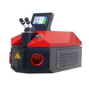 Saldatrice di titanio tenuta in mano del laser dell'oro con energia 100j