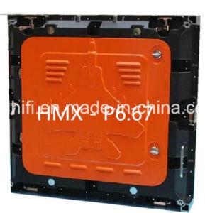 P6.67 Écran d'affichage vidéo couleur haute couleur à l'extérieur pour la publicité imperméable haute résolution P6 / P8 / P10