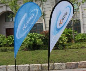 Bandiere della bandierina di stampa delle bandiere della bandierina della piuma con poliestere 100% per la pubblicità