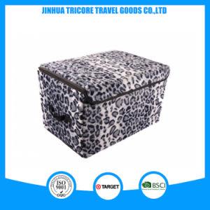 よい販売の白くおよび黒いヒョウによって印刷される記憶袋ボックス