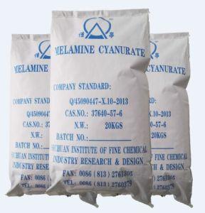 Halong-vrije Vlam stikstof-Serise - de Melamine Cyanurate van het Smeermiddel van de vertrager (MCA)