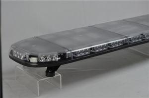 Blauwe/Rode Tir 66W LEIDENE van de Politiewagen Lichte Staaf