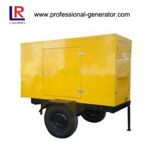 22kw屋外力の機械装置のための移動式トレーラーの発電機
