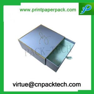 El cierre de lujo personalizado el cajón de cartón de papel Joyas de embalaje Caja de regalo