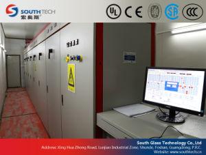 Hardende Oven van het Vlakke Glas van Southtech de Ononderbroken (LPG)