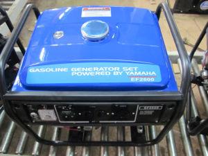 generatore della benzina di monofase YAMAHA di 6kw 6kVA con le rotelle