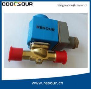 Coolsour Precio bajo el agua de 24V DC la electroválvula de control, los racores de refrigeración