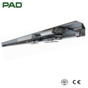 Portello scorrevole automatico residenziale con colore d'argento