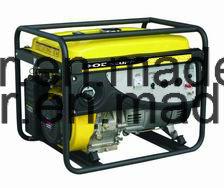 5kw de super Stille Diesel Lucht koelde Stille Generator, Mobiel Type