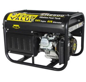 2, 000 Watts Ohv 5.5HP 4 ciclo de Gasolina Gerador portátil ZH2500