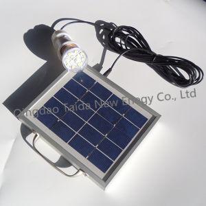 Alta potência de mini-kits de iluminação solar para iluminação de emergência para interior