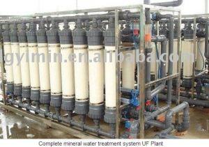 El equipo de agua mineral.