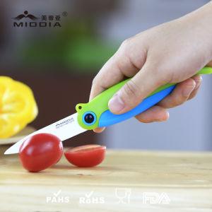 Plegamiento Portable de Cerámica del Cuchillo Pocket del Cuchillo de la Fruta/cuchillo Plegable