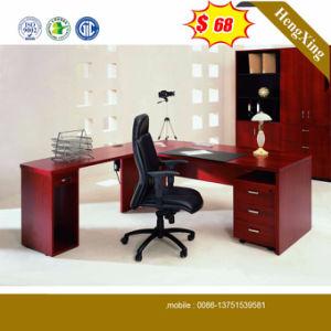 Precios baratos de madera de MFC Color caoba mesa de oficina (HX ...