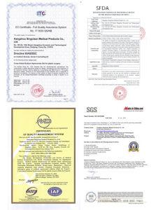 Marca CE Singfiller hialuronato sódico de relleno dérmico
