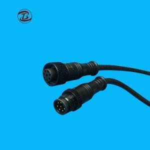 Низкое напряжение водонепроницаемые разъемы кабеля Mini